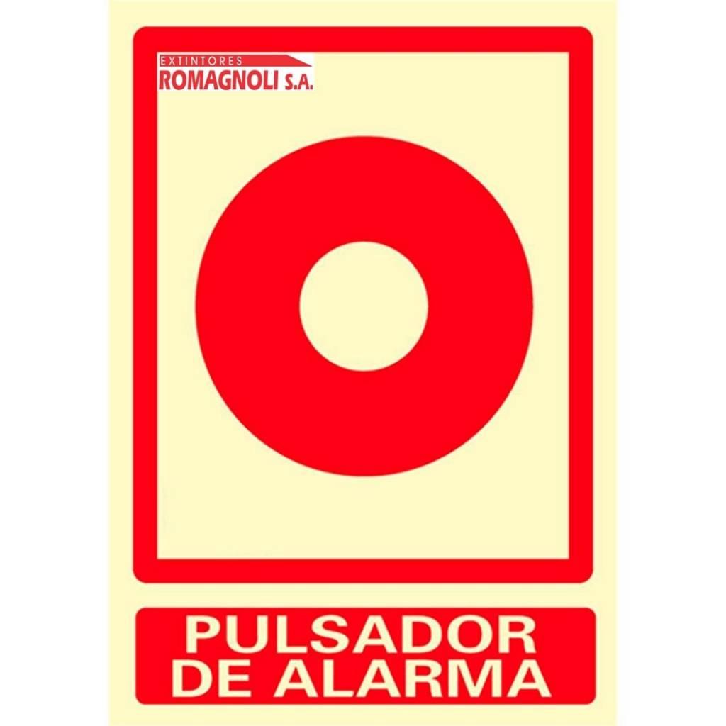 Cartel Pulsador de Alarma