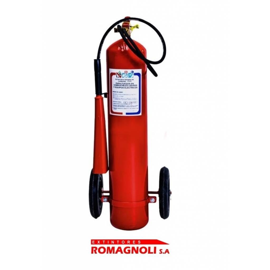 Extintor CO2 de 10 kg   - DIOXIDO de CARBONO