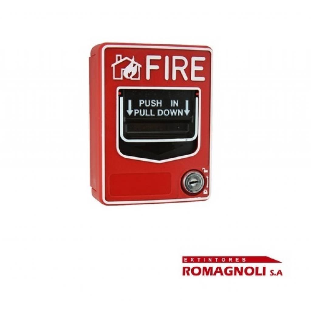 Jaladora/Avisador  Manual de incendio.