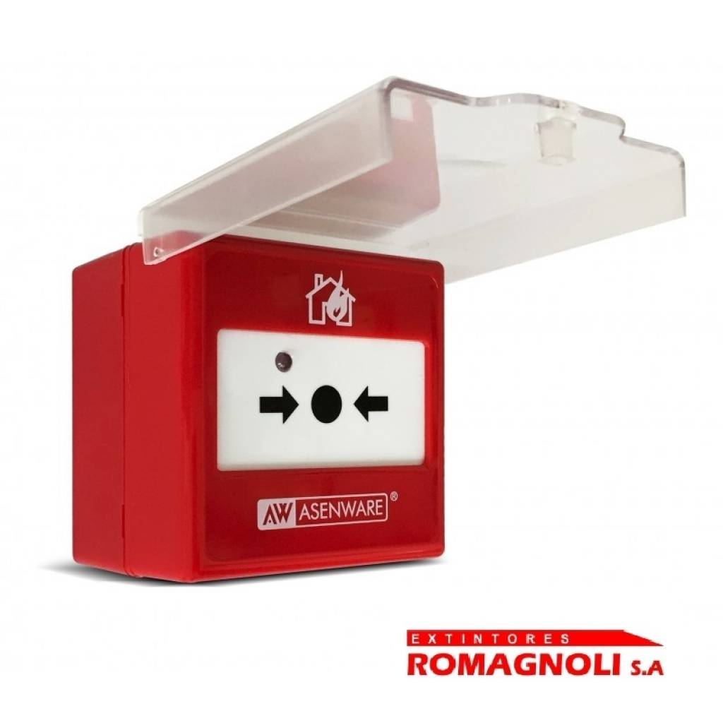 Avisador manual de incendio ASENWARE