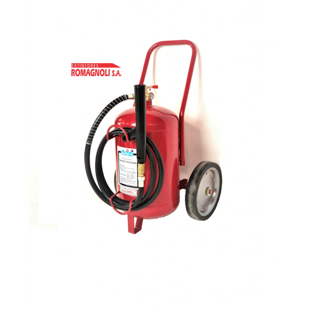 Extintor Carro polvo 25kg