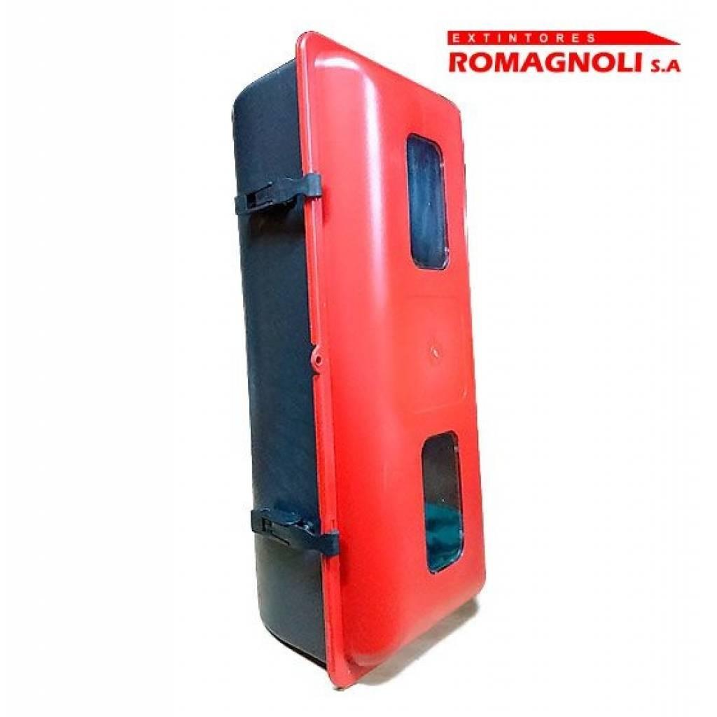 Nicho para Extintor / Gabinete plástico hermético para extintores manuales