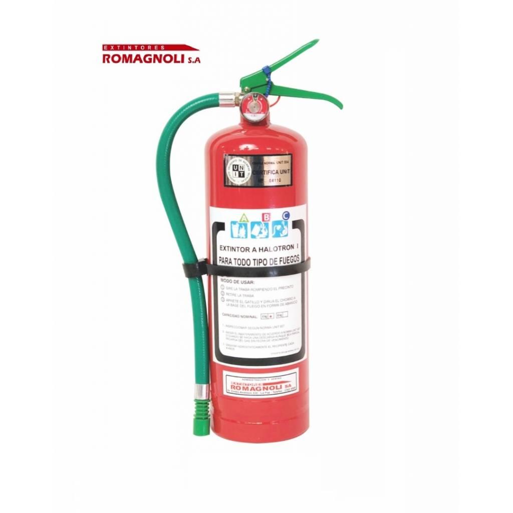 Extintor HCFC 123 -Haloclean 4kg